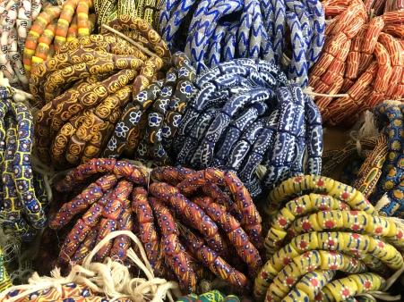 Beadwork, Dodowa, Ghana