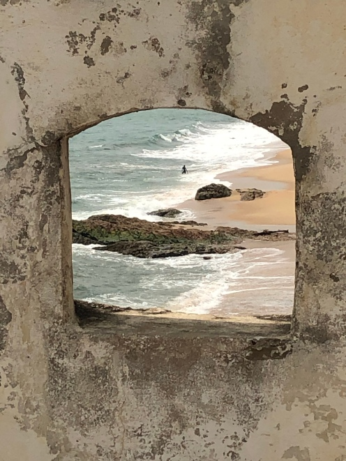 View from Elmina Castle, Cape Coast, Ghana